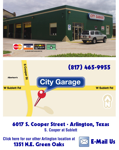 City Garage Grand Prairie Texas